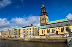City Goteborg, Sweden Royalty Free Stock Photos