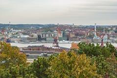 City of Gothenburg in autumn Royalty Free Stock Photo