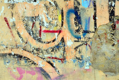 City graffiti Royalty Free Stock Image