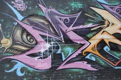 Urban graffiti Stock Photography
