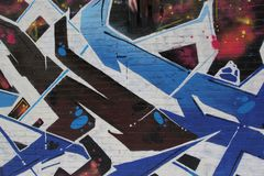 Urban city graffiti Stock Photo