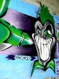 City graffiti. Stock Image