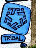 City graffiti. Royalty Free Stock Photo