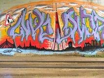 City graffiti. Stock Images