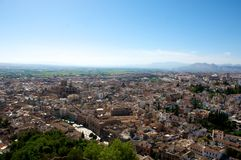 City of Granada. View of the city of Granada, Andalusia,Spain Royalty Free Stock Photo