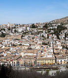 City of Granada Royalty Free Stock Photography