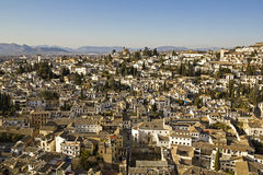 The city of Granada Stock Photo