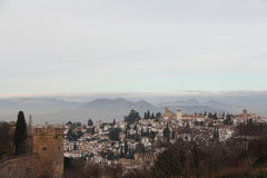 City of Granada Royalty Free Stock Photo