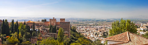 City of Granada, Spain Royalty Free Stock Image