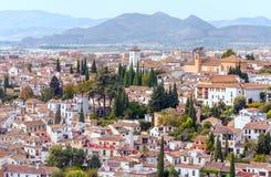City of Granada Stock Photos