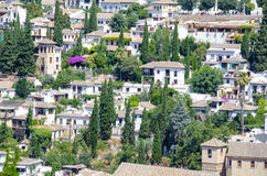 City of Granada, Spain Royalty Free Stock Images