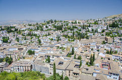 City of Granada, Spain Royalty Free Stock Photography