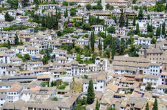 City of Granada, Spain Royalty Free Stock Photos