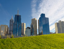 City of grass and stone Royalty Free Stock Image