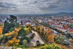 City of Graz in Austria Royalty Free Stock Images