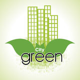 City green Royalty Free Stock Images
