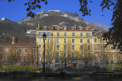 City of Grenoble Royalty Free Stock Photography