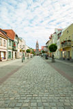 City Grodzisk Wielkopolski in Poland Royalty Free Stock Photography
