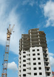 City Growth - Construction Works Stock Image