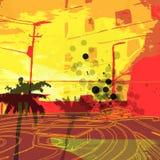 City Grunge stock illustration