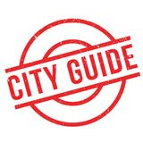 City Guide rubber stamp Stock Photo