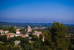 City  in the hérault Royalty Free Stock Image