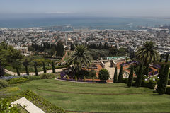 City of Haifa Royalty Free Stock Photo