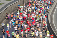 City half marathon in Kyiv, Ukraine Stock Photography