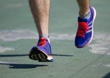 City half marathon in Kyiv, Ukraine Royalty Free Stock Photo