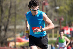 City half marathon in Kyiv, Ukraine Stock Photography