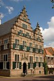 City hall. In Naarden, historic building with nice housefront Royalty Free Stock Image