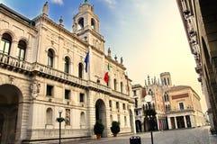 City Hall. Padua's City Hall, a Sixteenth Century Renaissance building Stock Images