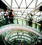 City Hall 20th September 2009. Central London - September 20: Public opening of City Hall as part of Open House Weekend event 2009   September 20th, 2009 in Royalty Free Stock Photos