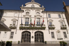 City Hall. Building of Asti, Piedmont, Italy Stock Photography