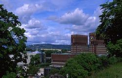 City Hall. Oslo City Hall royalty free stock image