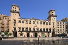 City Hall in Alicante, Spain. Royalty Free Stock Photography