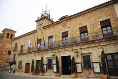 City Hall of Almagro, Spain Stock Images