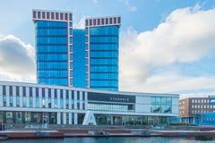 City Hall Almelo. Twente, Overijssel, the Netherlands stock photos