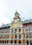 City Hall in Antwerp Stock Photo