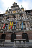 City Hall in Antwerp, Belgium Stock Photos