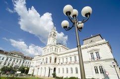 City Hall in Arad royalty free stock photos