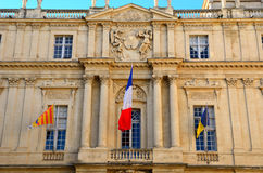 City hall, Arles, France Stock Images