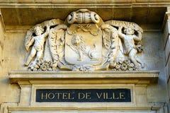 City hall, Arles, France Stock Image