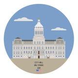 City hall. Baltimore, USA Stock Photo