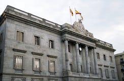 The city hall of Barcelona Stock Photography