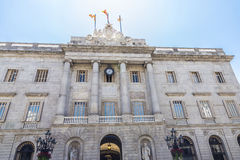 City hall, Barcelona Stock Photography