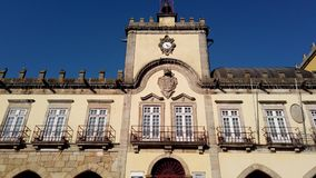 City hall in Barcelos stock video