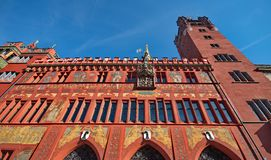 City Hall in Basel Stock Photography