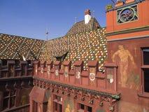 City Hall of Basel, Switzerland Royalty Free Stock Photography