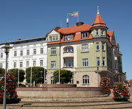 City hall in Bergen Germany Stock Photography